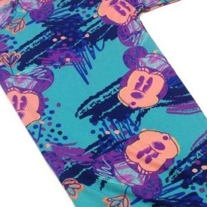 LuLaRoe Disney Collection Irma Stretch Top Coverup